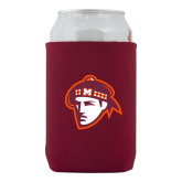 Neoprene Maroon Can Holder-Scot Head