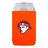 Neoprene Orange Can Holder-Scot Head