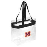 Game Day Clear Stadium Tote-Primary Logo