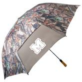 58 Inch Hunt Valley Camo Umbrella-Primary Logo
