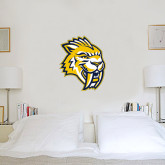 2 ft x 2 ft Fan WallSkinz-Sabercat Head