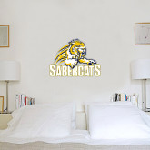2 ft x 3 ft Fan WallSkinz-Sabercat Swoosh