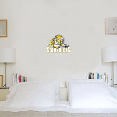 1.5 ft x 2 ft Fan WallSkinz-Sabercat Swoosh