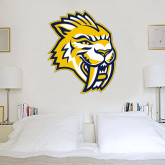 2.5 ft x 3 ft Fan WallSkinz-Sabercat Head