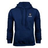 Navy Fleece Hoodie-Maranatha Baptist University