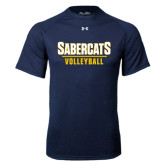 Under Armour Navy Tech Tee-Volleyball