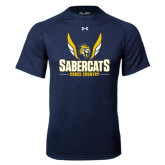 Under Armour Navy Tech Tee-Cross Country Design