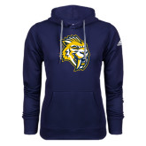 Adidas Climawarm Navy Team Issue Hoodie-Sabercat Head