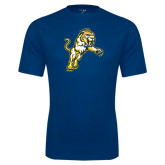 Syntrel Performance Navy Tee-Sabercat Lunge