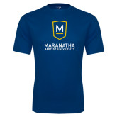 Syntrel Performance Navy Tee-Maranatha Baptist University