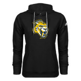 Adidas Climawarm Black Team Issue Hoodie-Sabercat Head
