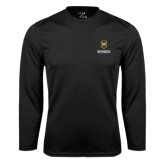 Syntrel Performance Black Longsleeve Shirt-Maranatha Baptist University