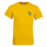 Gold T Shirt-Sabercat Head