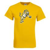 Gold T Shirt-Sabercat Lunge
