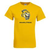 Gold T Shirt-Snarl Strong