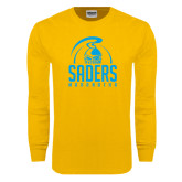 Gold Long Sleeve T Shirt-Maranatha Saders