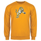 Gold Fleece Crew-Sabercat Lunge