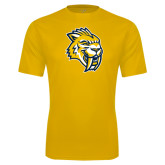Syntrel Performance Gold Tee-Sabercat Head