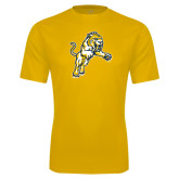 Syntrel Performance Gold Tee-Sabercat Lunge