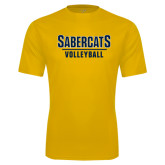 Performance Gold Tee-Volleyball