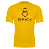 Syntrel Performance Gold Tee-Maranatha Baptist University