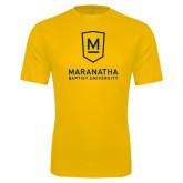 Performance Gold Tee-Maranatha Baptist University