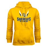 Gold Fleece Hood-Cross Country Design