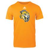 Adidas Gold Logo T Shirt-Sabercat Head