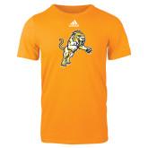Adidas Gold Logo T Shirt-Sabercat Lunge