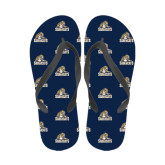 Full Color Flip Flops-Sabercat Swoosh