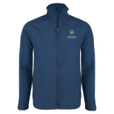 Navy Softshell Jacket-Maranatha Baptist University