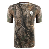 Realtree Camo T Shirt-Sabercat Head