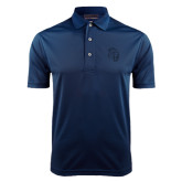 Navy Dry Mesh Polo-Sabercat Head