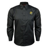 Red House Black Long Sleeve Shirt-Sabercat Head