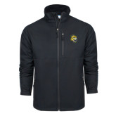 Columbia Ascender Softshell Black Jacket-Sabercat Head