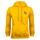 Gold Fleece Hood-Sabercat Head