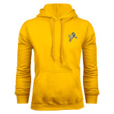 Gold Fleece Hood-Sabercat Lunge