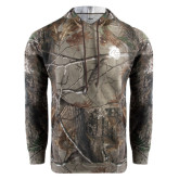 Realtree Camo Fleece Hood-Sabercat Head