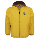 Gold Survivor Jacket-Sabercat Head