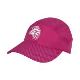 Pink Pace Setter Cap-Sabercat Head