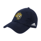 Adidas Navy Slouch Unstructured Low Profile Hat-Sabercat Head