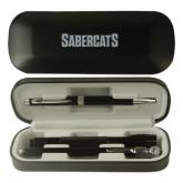 Black Roadster Gift Set-Sabercats Word Mark Engraved