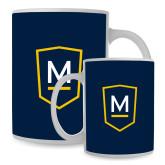 Full Color White Mug 15oz-Maranatha Baptist University Shield