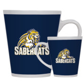 12oz Ceramic Latte Mug-Sabercat Swoosh