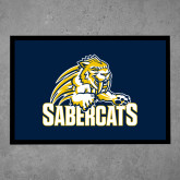 Full Color Indoor Floor Mat-Sabercat Swoosh