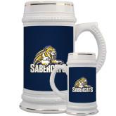 Full Color Decorative Ceramic Mug 22oz-Sabercat Swoosh