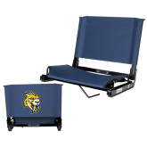 Stadium Chair Navy-Sabercat Head