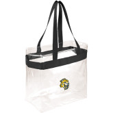 Game Day Clear Stadium Tote-Sabercat Head