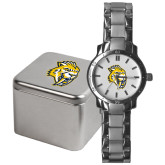 Mens Stainless Steel Fashion Watch-Sabercat Head