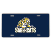 License Plate-Sabercat Swoosh